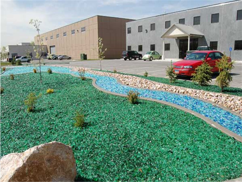 Colored Glass Rocks For Sale Decorative Glass Chunks Landscaping Tenroads