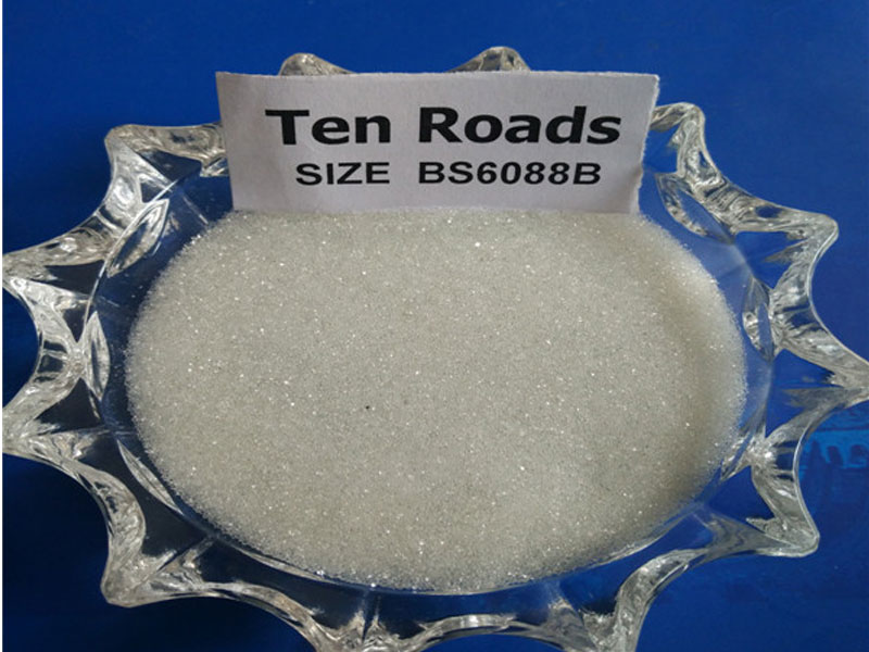 BS6088B Reflective Glass Beads For Traffic Road Marking Paint